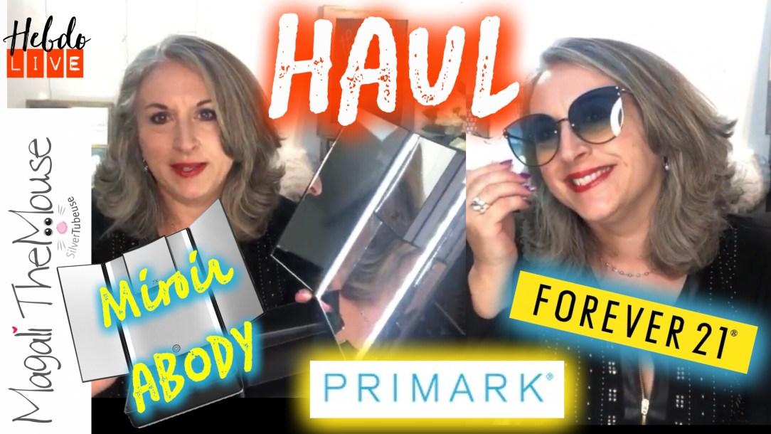 Magali TheMouse quinqua haul forever21 Primark miroir abody