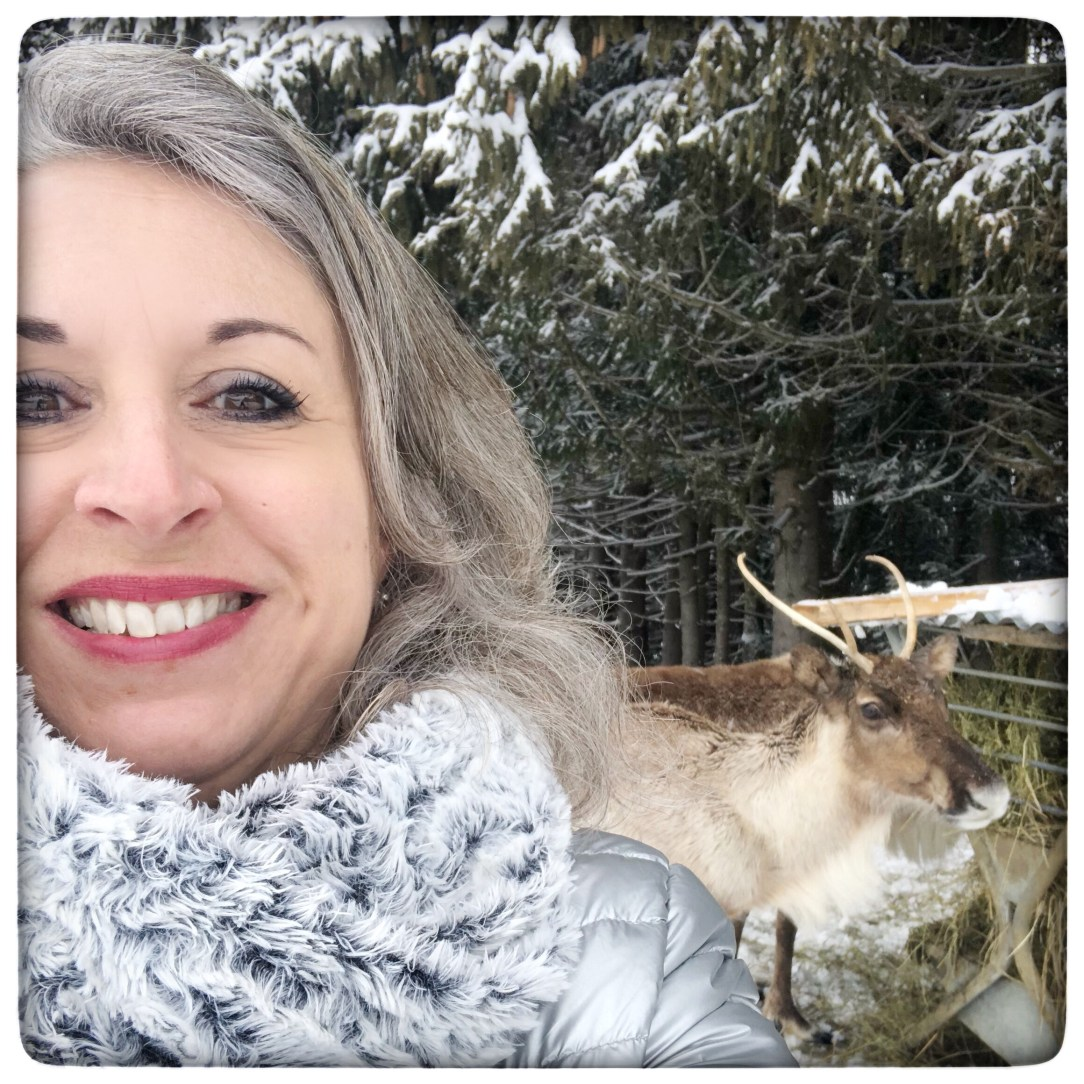 Magali TheMouse quinqua chalets du prariand Megève vacances bleues rennes Coulairon