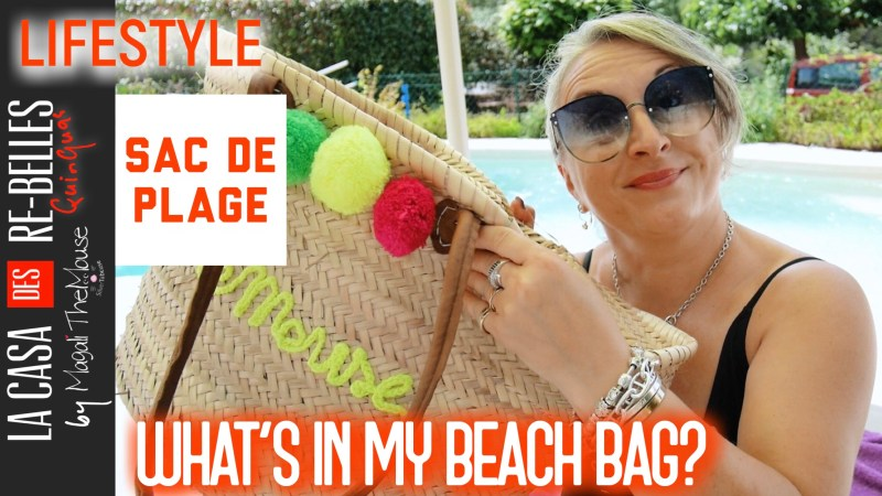 MON SAC DE PLAGE: WHAT'S IN MY BEACHBAG… MAILLOTS DE BAIN ÉTÉ 2018