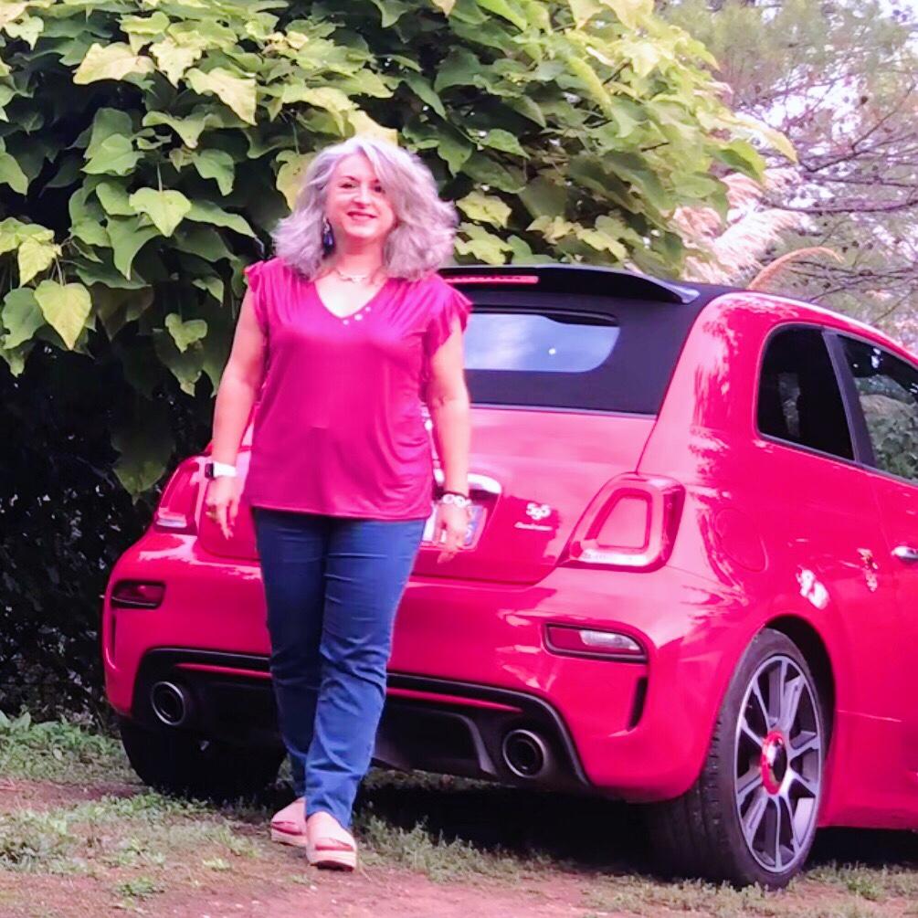 Idée look et Lundi Soleil 15/10/2018: pink lady, un nouveau Quinqua!