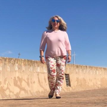 50 ans, fleurs, mode Quinqua, pastel, teambeautesmajuscules, look, tendances, Peter Hahn, quinqua, partenariat, idee look, Fashion, Mode,