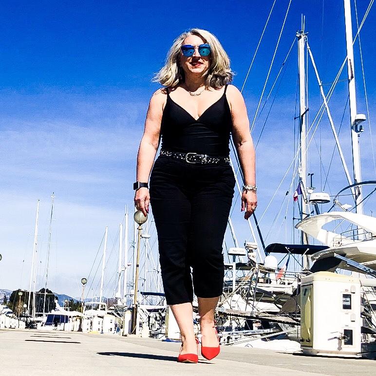 Idée look, Fashion, 50 ans, quinqua, mode, tendances, Teambeautesmajuscules, look, mode Quinqua, YouTube, blanche porte, lookbook, printemps été 2019, tendance,