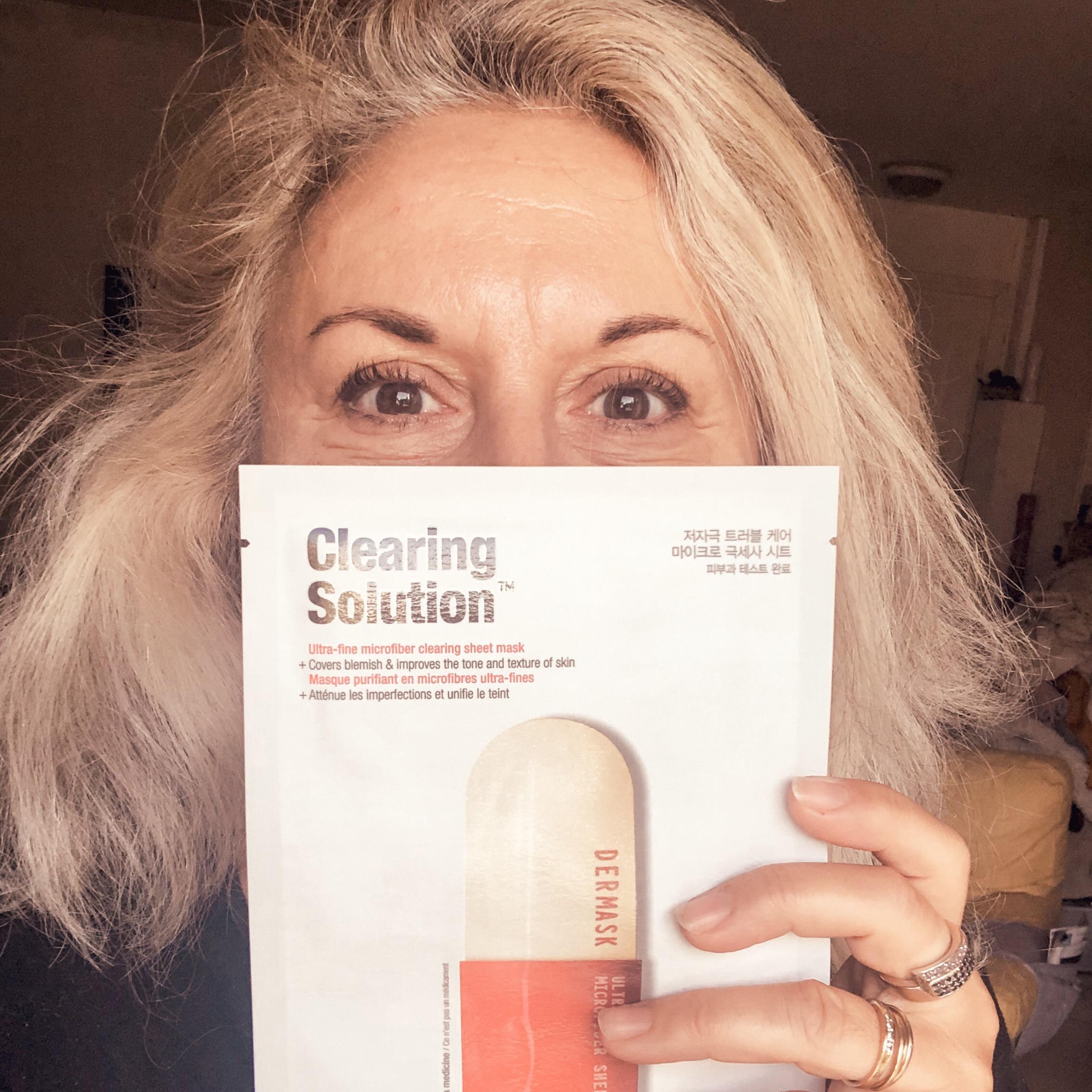Le mask challenge : masque du Dr Jart Clearing solution