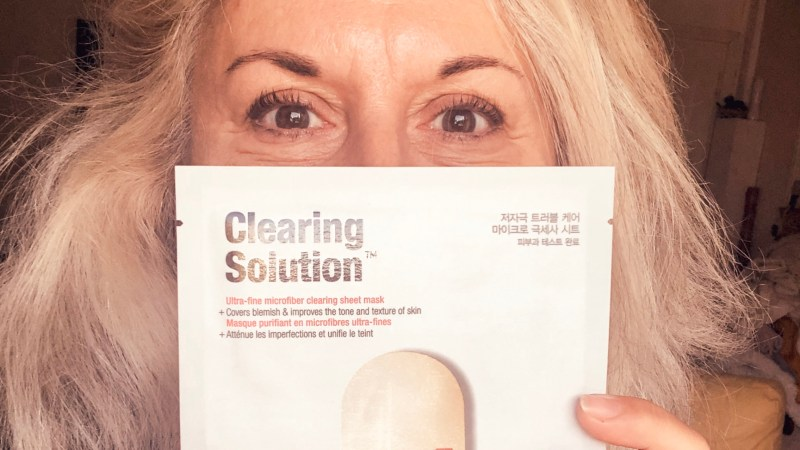 Le mask challenge : masque du Dr Jart Clearing solution