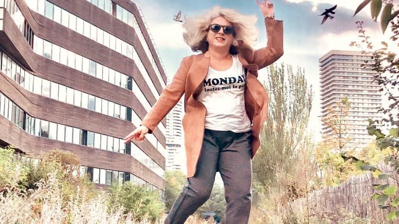 Inspirée par…Nadine du blog J'ai 50 ans et après! (Idée look)