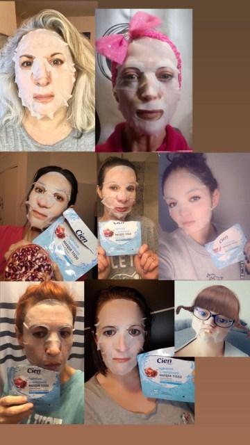 Blogueuse du sud, cien, soin gommant à la boue, quinqua, hydrate, lidl, mask challenge, masque revitalisant lidl, silverhair, masque hydratant lidl, une citadine dans un bled paumé, mask, masque,