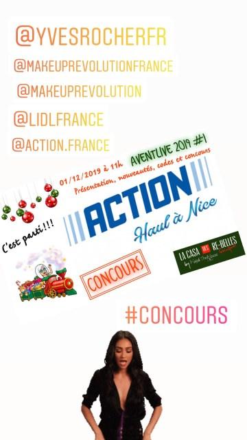 action, hebdo show, beauty mag senior, haul action, la box de themouse, hebdomadaire, live, hebdo live, Aventlive, nouveautés, Concours,