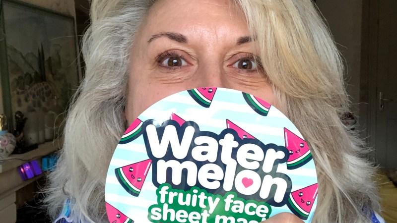 Test du masque Action Water melon
