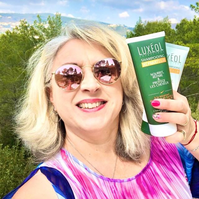luxeol, produitoffertparluxeol, apresshampoing, shampooing, quinqua, cheveuxsecs, Hivency, silverhair, tignasse, blogueusedusud, cheveux, test,