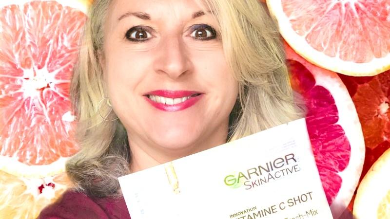 Masque tissu Garnier skinactive Vitamine C shot
