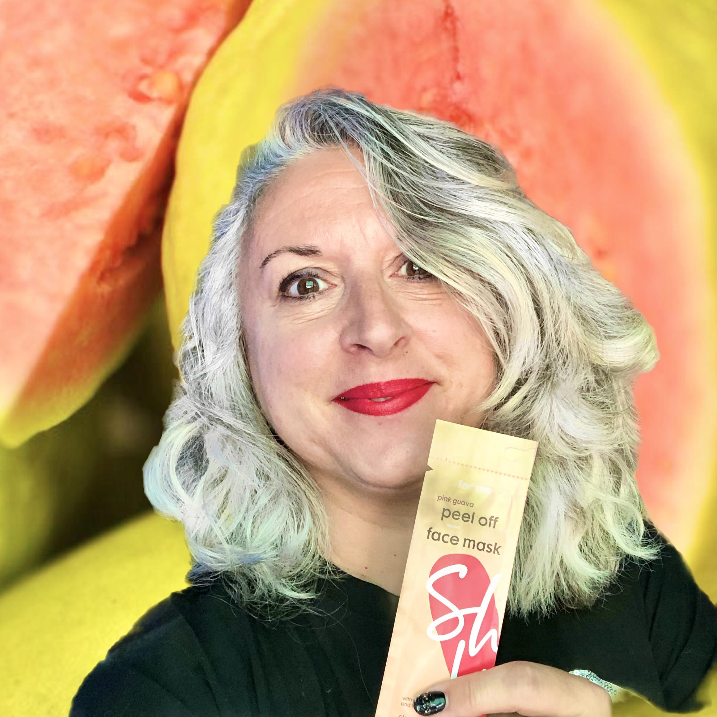 Masque HEMA share love peeloff guave, pomme et citron vert