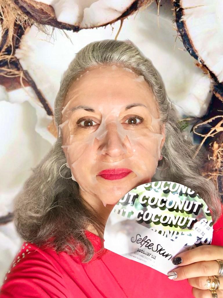 beauty, victoria secret, coconut oil, makeup, selfie skin, silversisters, pink, silverhair, maskchallengeunecitadine, makeupgeek, mask, masque,