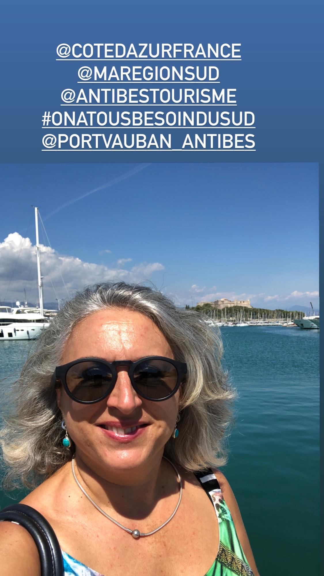 Retour à Antibes, les colliettes, les donneurs de leçon…