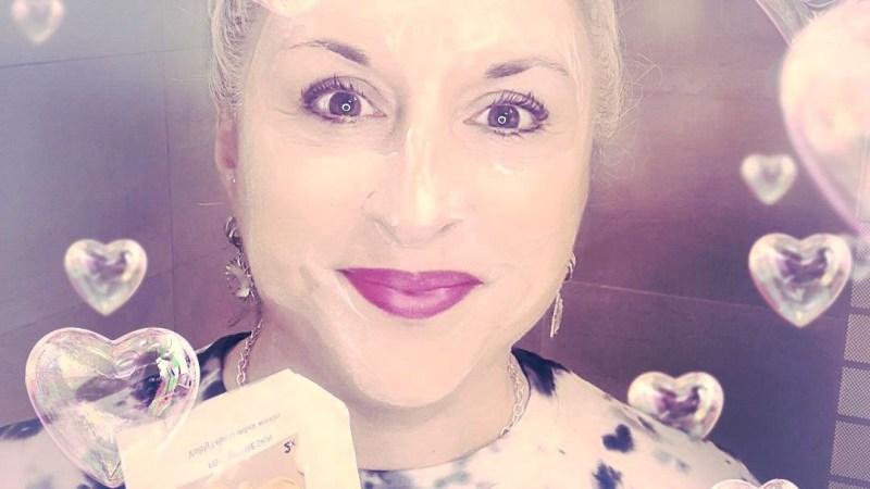 Masque antirides Cien au Q10 et beurre de karité pour peaux matures