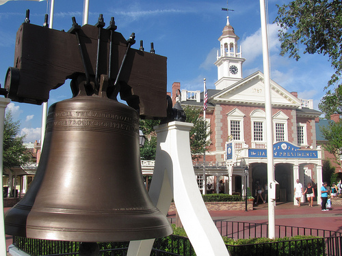 Liberty Square fun facts liberty bell