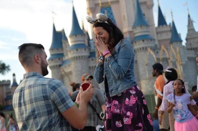 """Featured image for """"Disney Proposal Stories Guaranteed to Make You Swoon"""""""