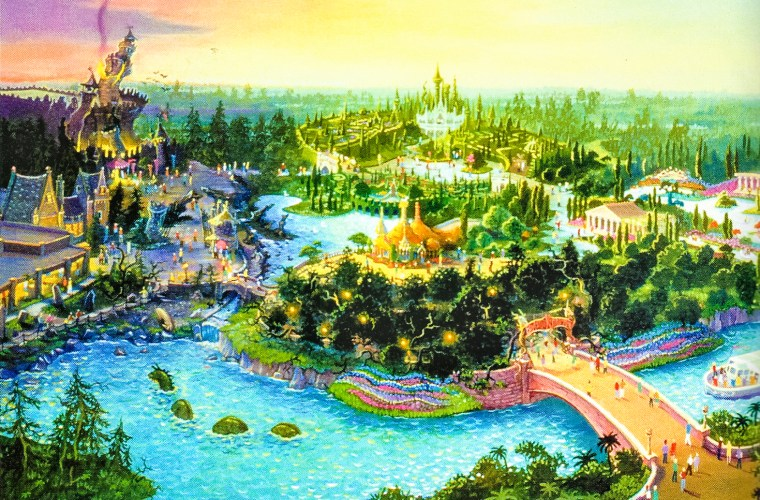 Beastly Kingdom at Animal Kingdom Concept Art