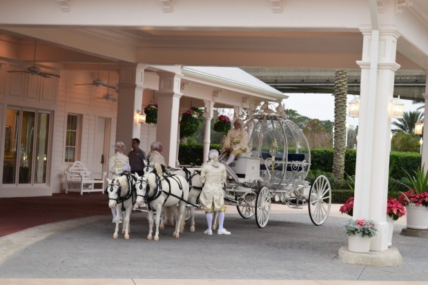 Cinderella Wedding Coach