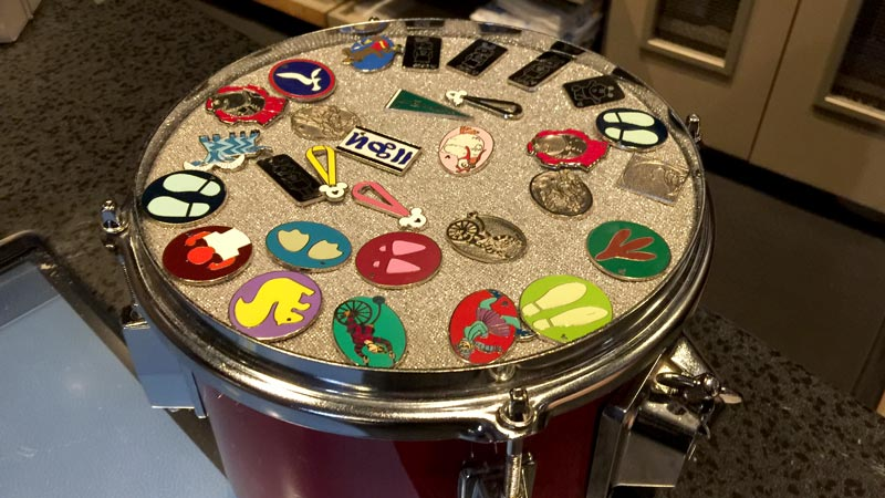 Pin Drum Walt Disney World