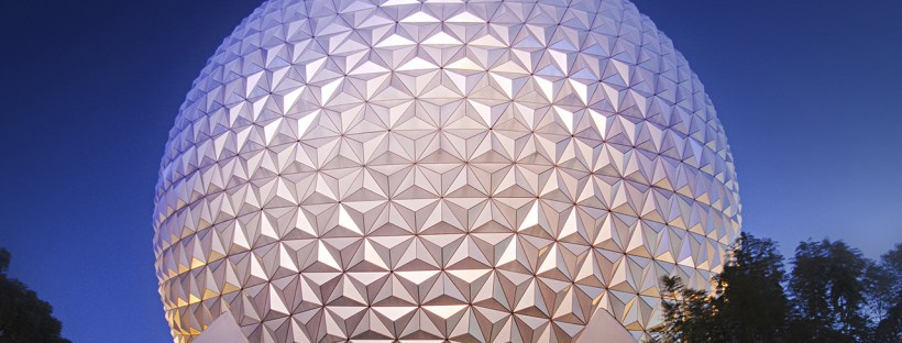 Top of Spaceship Earth