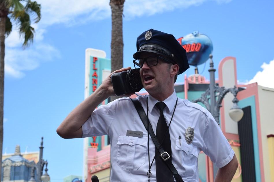 Officer Pat Friskem Citizen of Hollywood