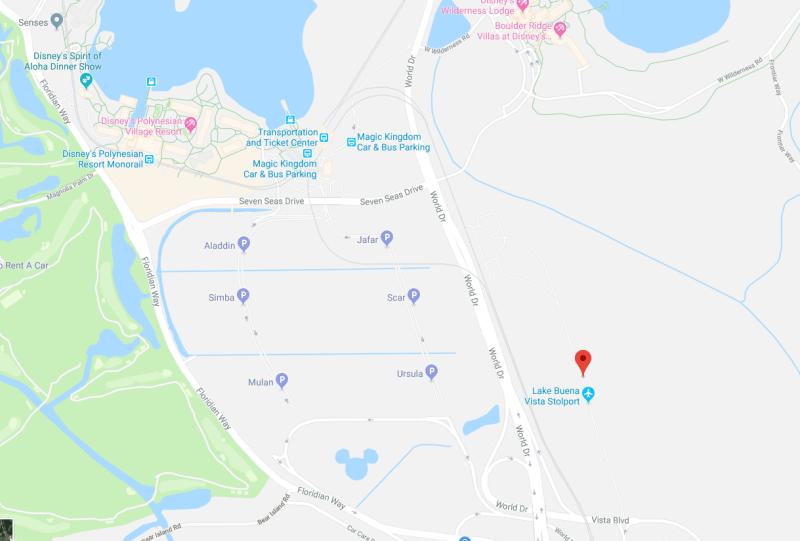Lake Buena Vista STOLport google maps
