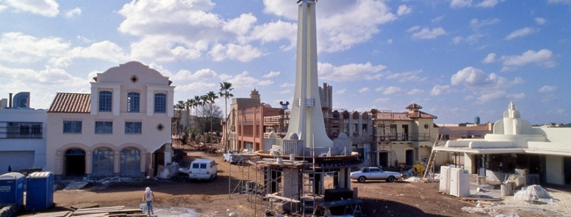 Hollywood Studios Construction
