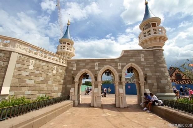 Enchanted Forest Magic Kingdom Castle Walls