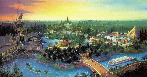 Beastly Kingdom at Animal Kingdom Concept