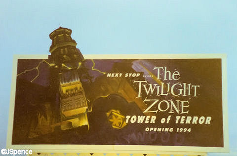 Tower of Terror Advertisement
