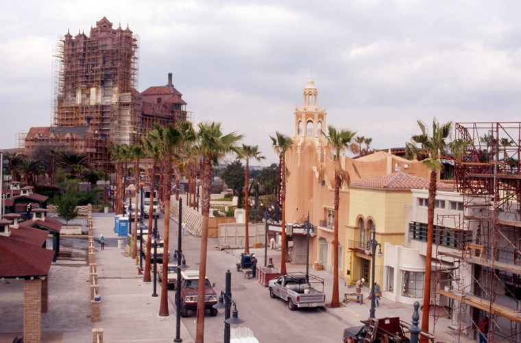 Tower of Terror Construction