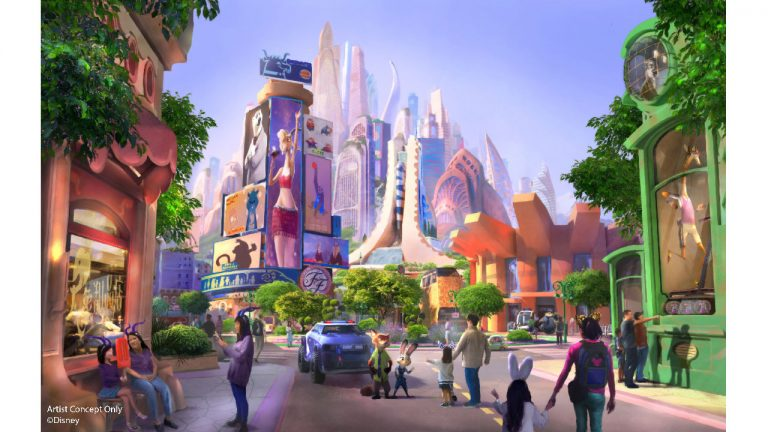 """Featured image for """"Shanghai Disney Announces Zootopia Themed Expansion"""""""