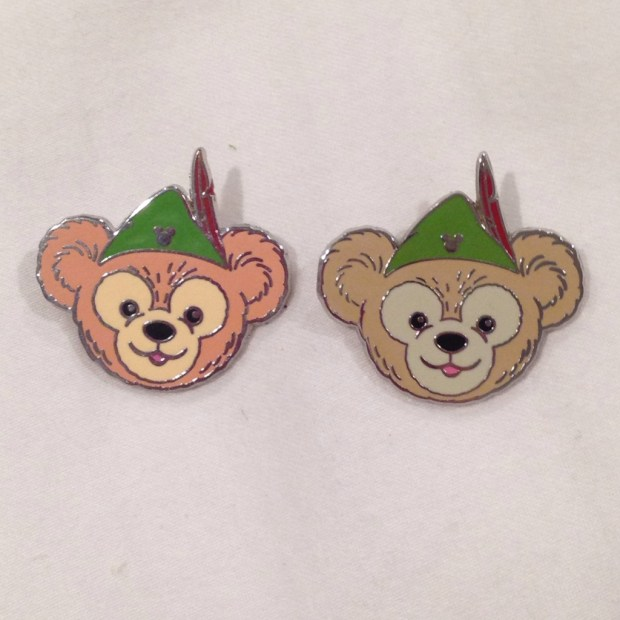 Fake Disney Pin with Colors