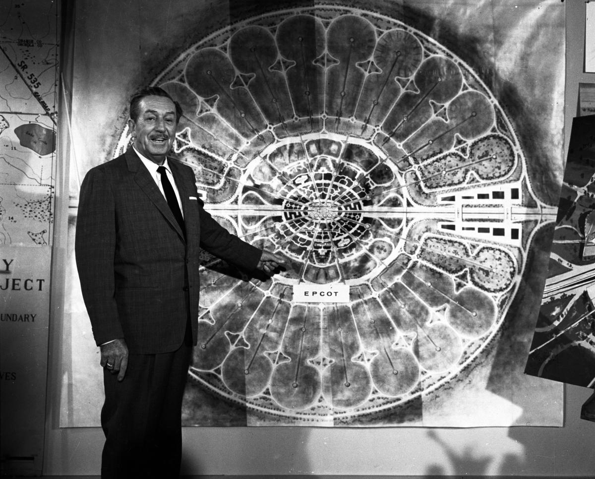 Walt Disney presenting EPCOT, 1966