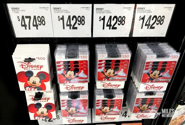 Discounted Disney Gift Cards to Pay off Trip