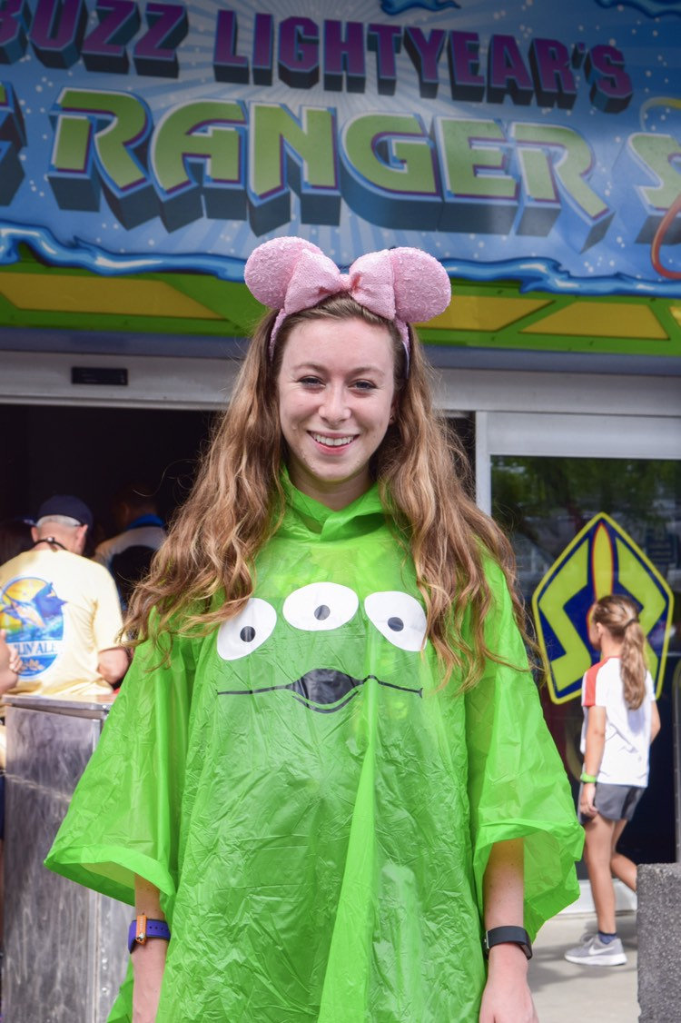 Fun Disney Rain Ponchos