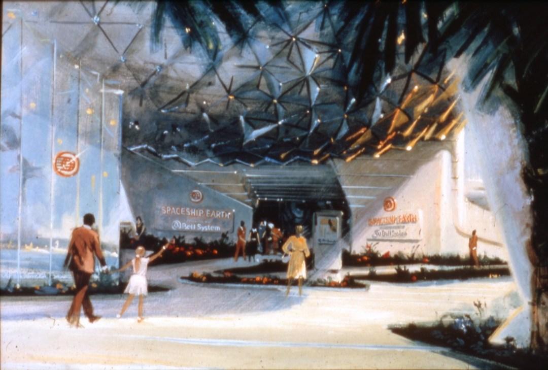 Concept Art Spaceship Earth