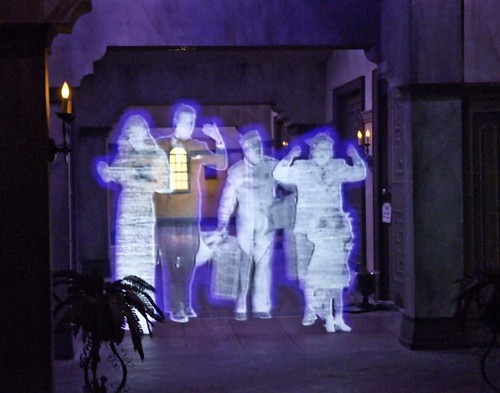 Tower of Terror Ghosts