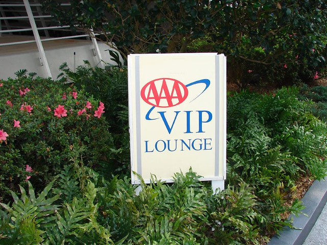 AAA VIP Lounge Disney