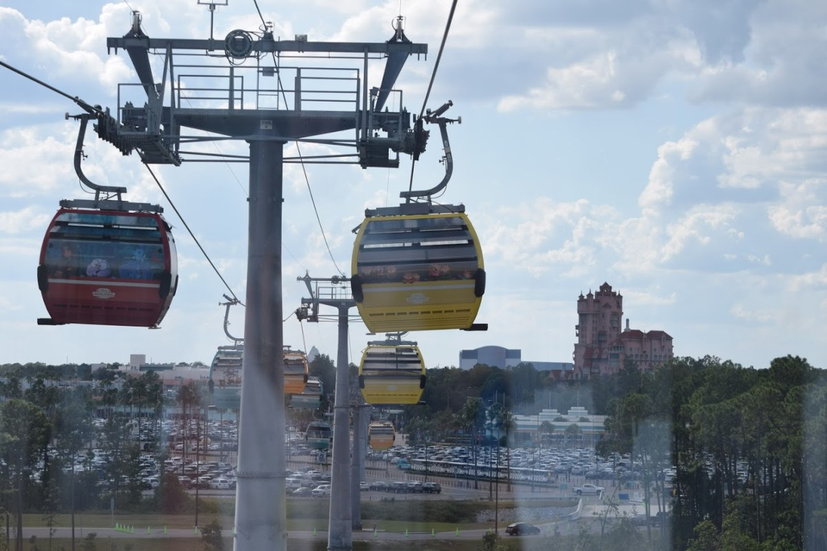 View from the Skyliner