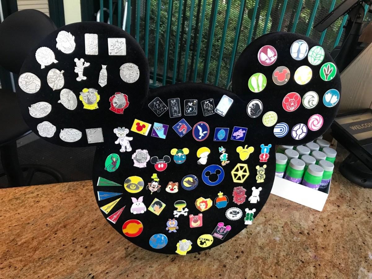 Pin Board Outside Disneyland