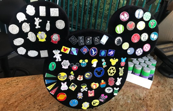 Pin Board Outside Disneyland