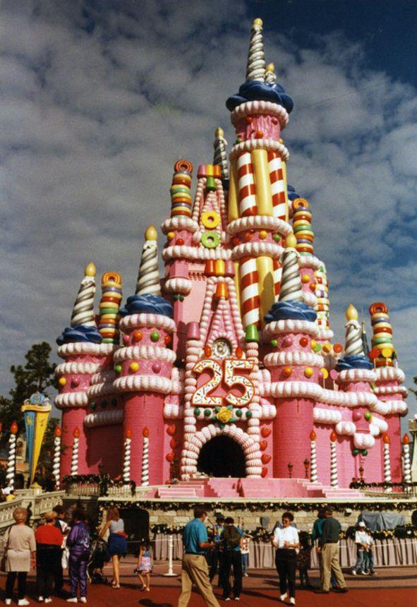 Magic Kingdom Castle renovations 2020