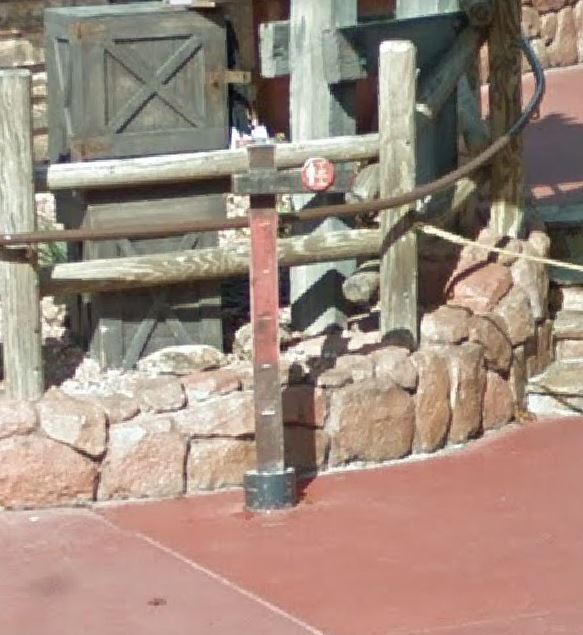 Railroad Tie Big Thunder Mountain