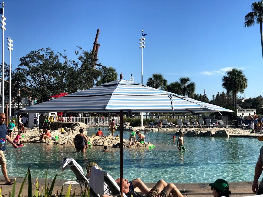 Yacht Club Pool Disney