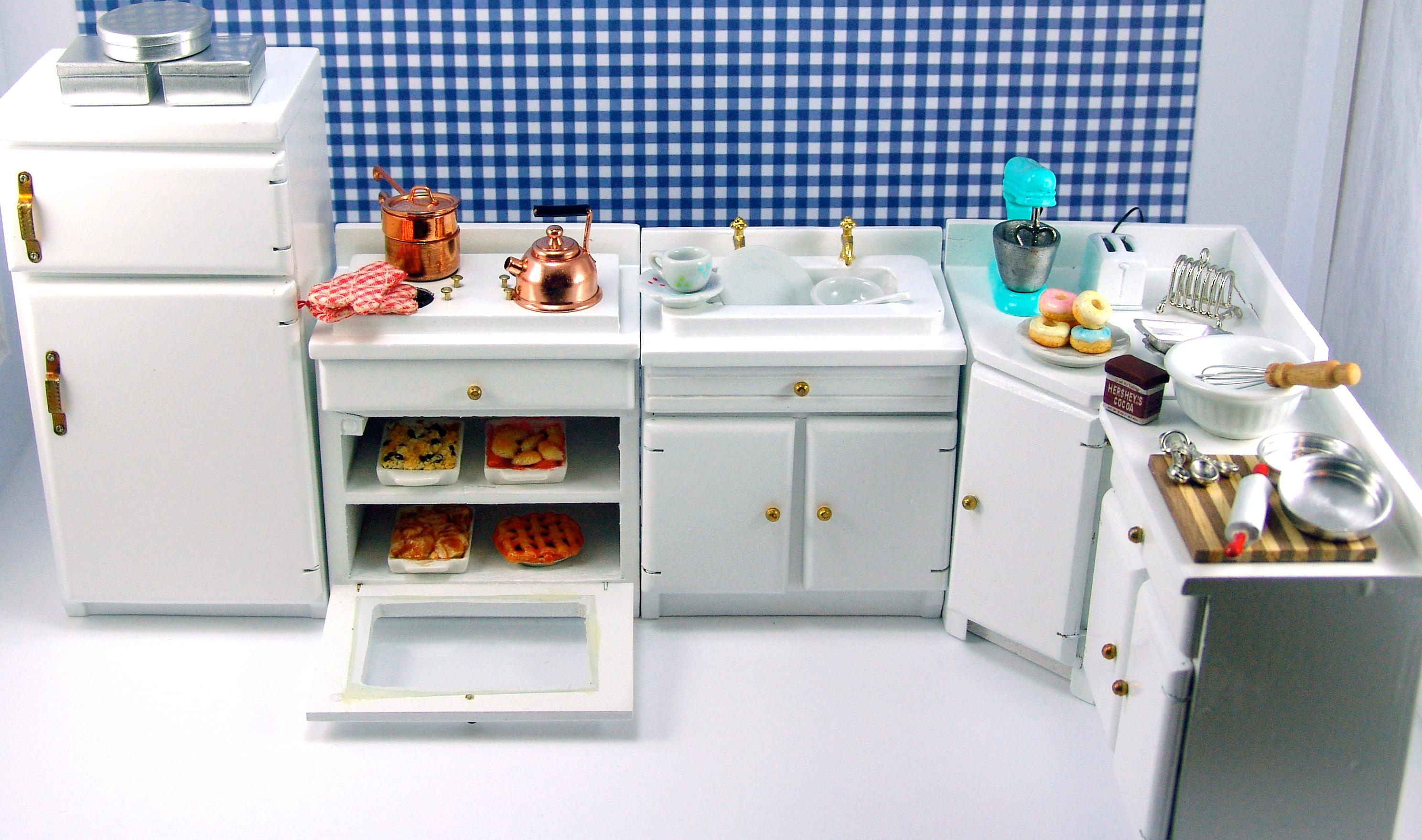 Dollhouse Kitchen Sink Tutorial