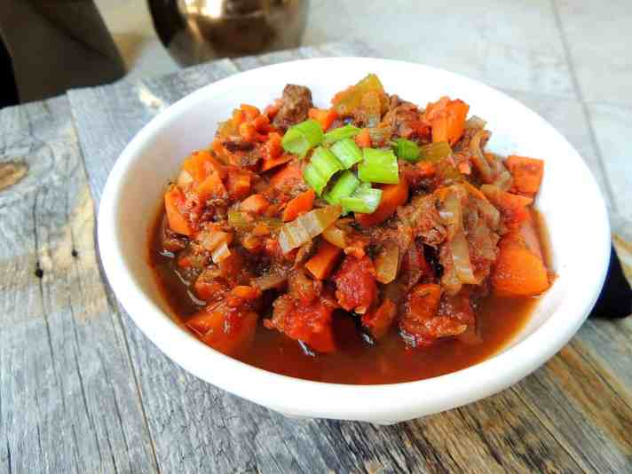 Healthy, Hearty Buffalo Stew