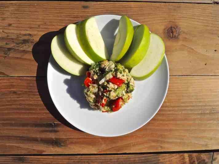 Salmon and Tuna Salad