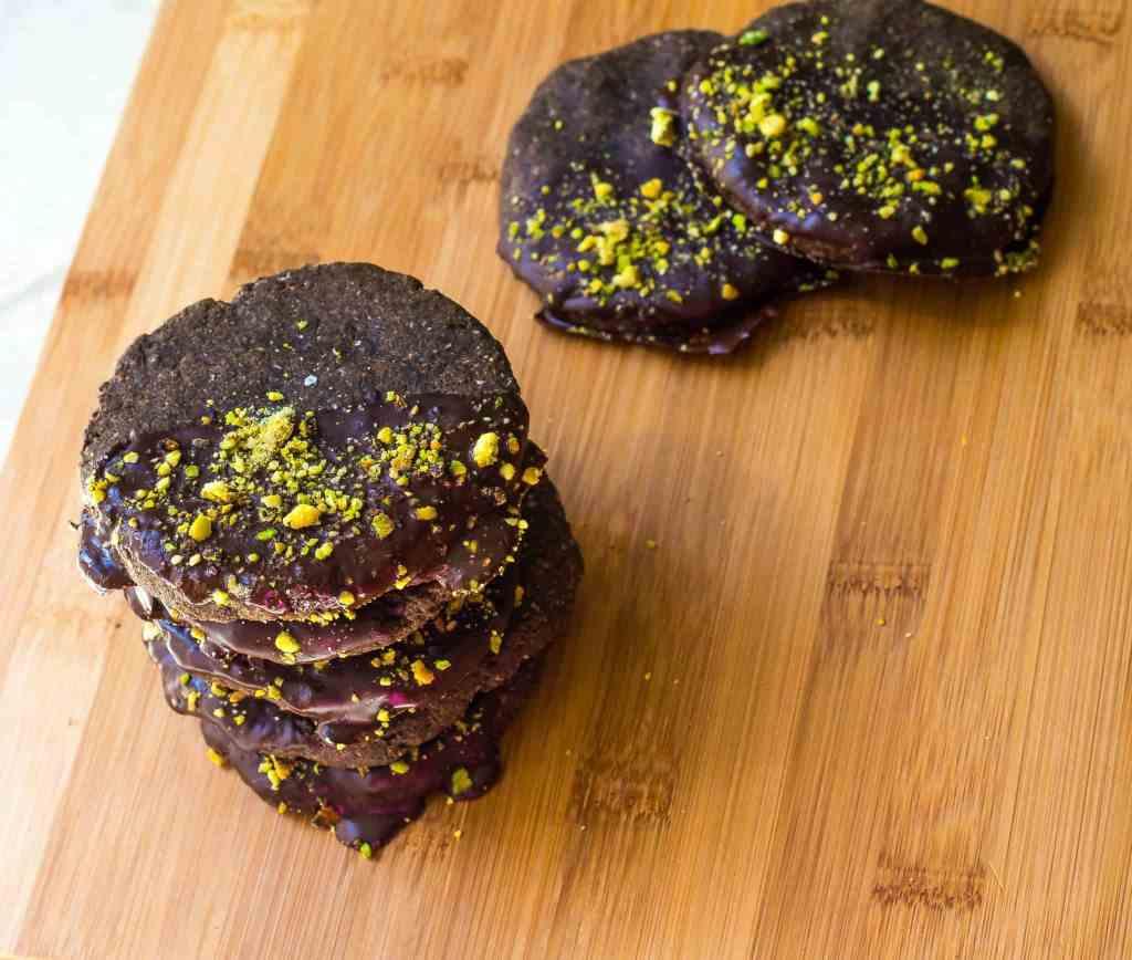 Pistachio Nutella Cookies