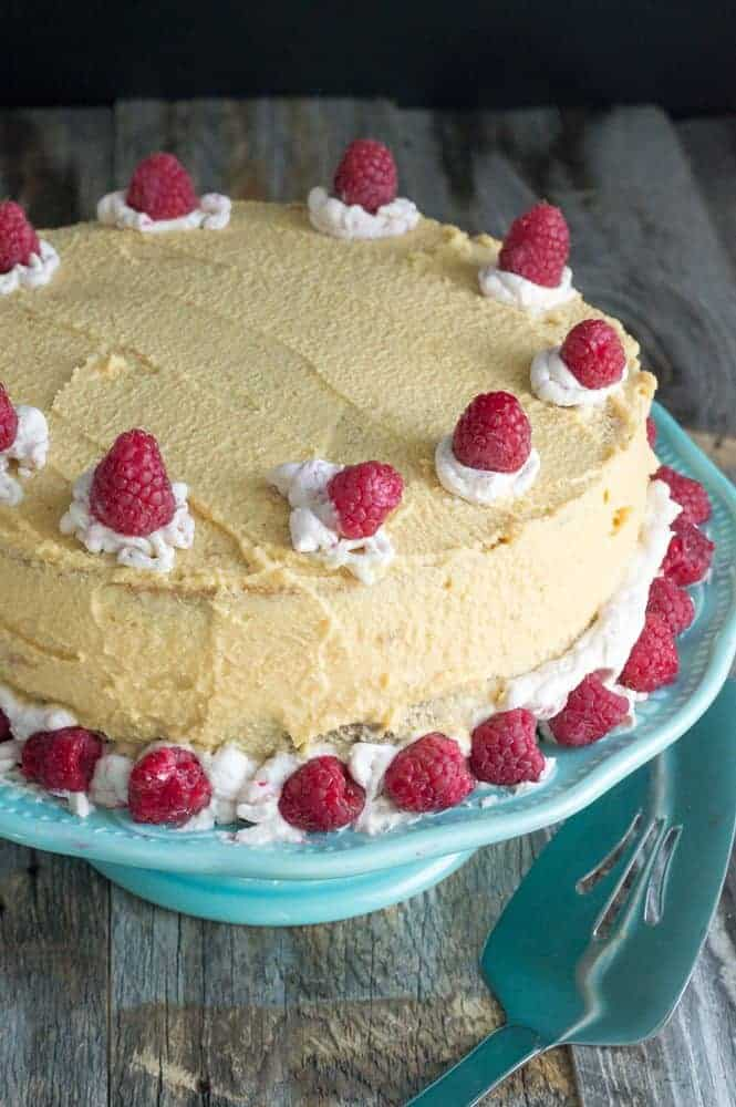 The Movement Menu - Layered & Creamy Raspberry Cake